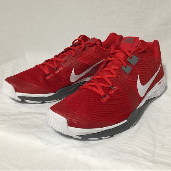 online store b85ed 54712 Nike Train Prime Iron DF Red Training Shoes